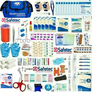 First Aid Trauma Kit Surgical Suture Kit Emergency Bug Out Bag Military Kit EMT