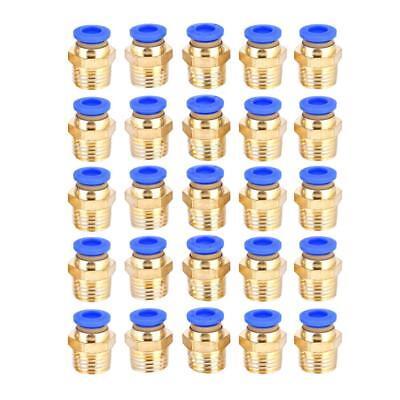 5stk Druckluftkupplung Schnell Kupplung Schlauchanschluss Adapter 1//4 Gewinde