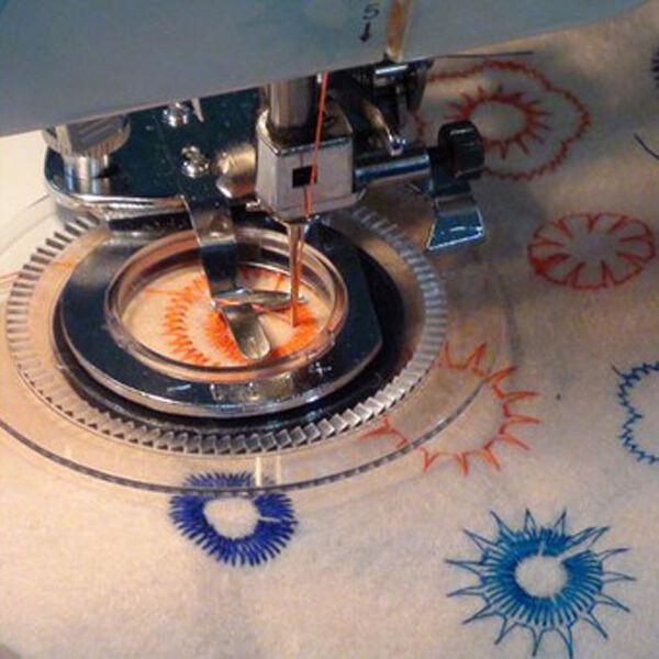 Daisy Flower Stitch Sewing Machine Presser Foot For Brother Babylock Custom Ebay Com Sewing Machines