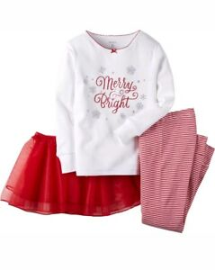 0a122c47c344 🎄Carter s Baby Girl Christmas 2-piece Outfit with Tutu 3mons