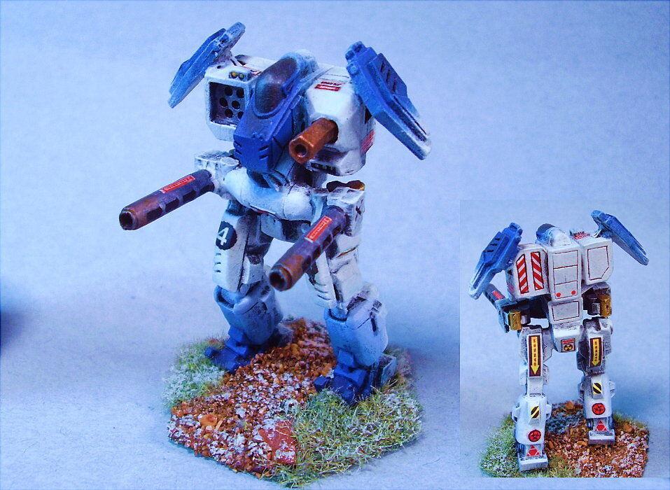 Battletech Pintado Oscuro Crow (segunda uno indicados) battlemech Csr