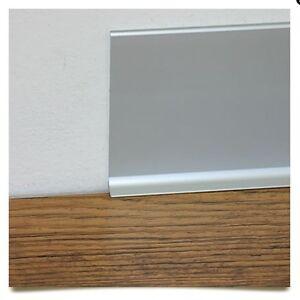 Zoccolino battiscopa in vero alluminio liscio varie for Battiscopa in legno bricoman