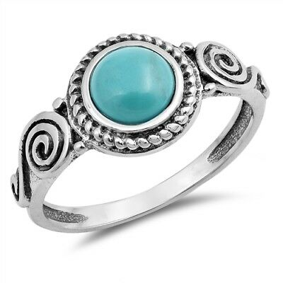 Free Shipping Turquoise Gemstone American Seller AR314 925 Sterling Silver Ring Natural Turquoise Ring