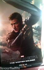 Cinema Banner: CAPTAIN AMERICA WINTER SOLDIER 2014 (Steve Rogers) Chris Evans