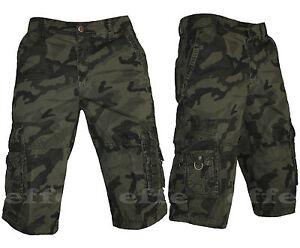 Caricamento dell immagine in corso Bermuda-Shorts-Pantalone-Jeans-UOMO- MIMETICO-Cargo-TASCONI- 9b97976700e9