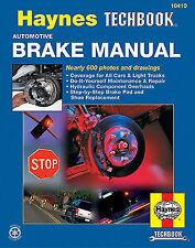 Automotive brake manual techbook Haynes  Repair Manual- Specialized 10410