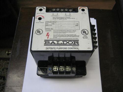 8 AMPS BALDOR DEFINITE PURPOSE CONTROL  # D70    3 PHASE  208-230//460VAC 60HZ