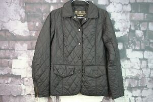 Womens 8 Size Jacket f552 10 27 Barbour Uk Black No EtwwrX