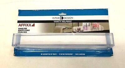 Interdesign Bathroom Organizer Medicine Storage Tray Cabinet Faucet Home Clear