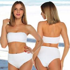 02b5030fce8ac item 1 Women Bandeau Bikini Set High Waisted Bottom Push up Top Bra Swimsuit  Swimwear -Women Bandeau Bikini Set High Waisted Bottom Push up Top Bra  Swimsuit ...