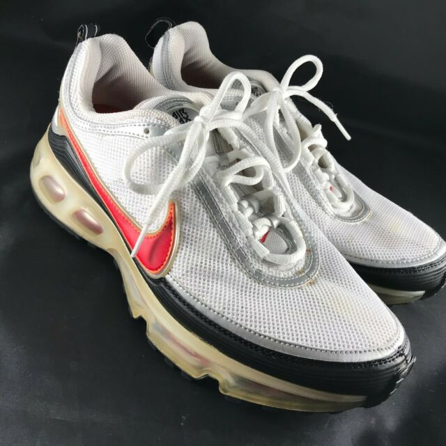 RARE Nike Air Max 360 Men's Size 12.5 White Black Red Silver 2006 SNEAKERS