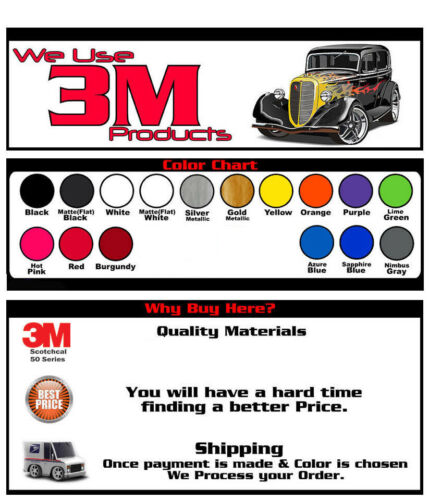 Eraser Bumper Black out Stripe Fits Chevy Blazer Graphic Decal on 3M Film