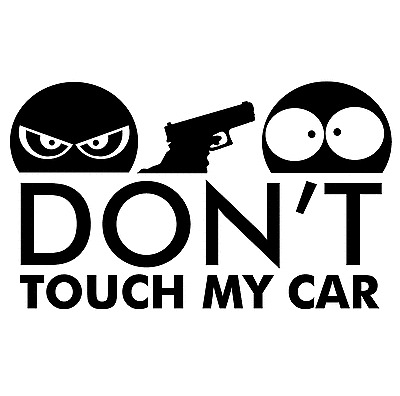 DONT TOUCH MY CAR --- Aufkleber Tuning Decal JDM OEM DUB Style don't  --- NEU --