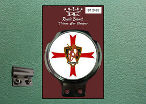 Royale Classic Car Badge & Bar Clip ONE ENGLAND ST GEORGE CRUSADER B1.2485