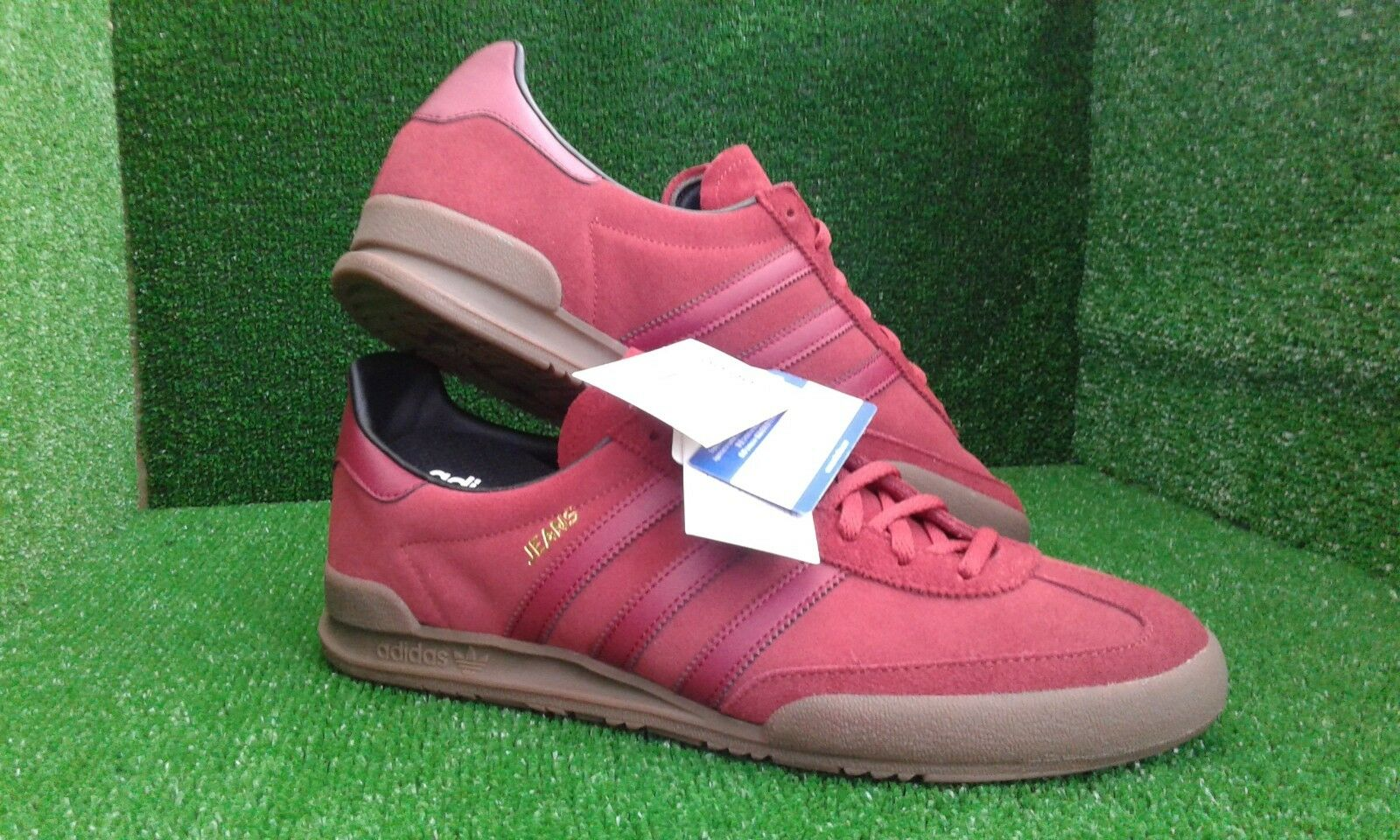 Adidas Jeans mk2 mystery red suede visit ninety two trimm star vhs milan