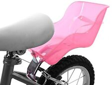 DOLL DOLLY PRETTY PINK BABY SEAT CARRIER FOR BICYCLE FRAME FITTING PINK PLASTIC