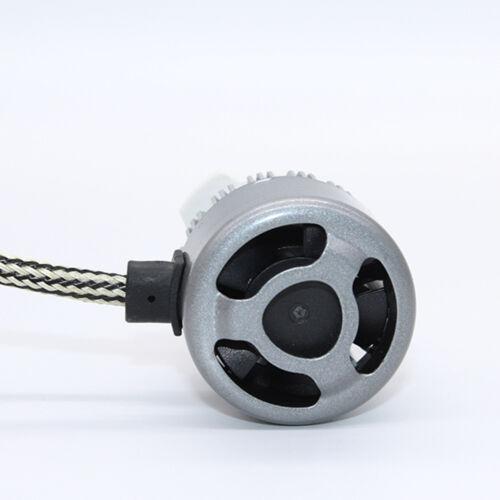 9006 HB4 Turbo LED Headlight Conversion Kit 72W 7600 Lumen 6000k White Fog Lamp