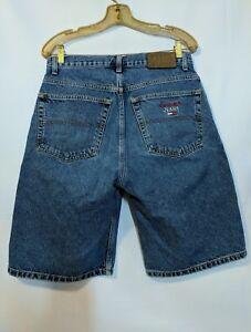 ee68c08858 Image is loading Tommy-Hilfiger-Vintage-90s-Denim-Jean-Shorts-Size-