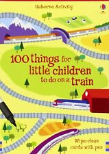 100 Things for Little Children to Do on a Train (Usborne Activity Cards) by Fion