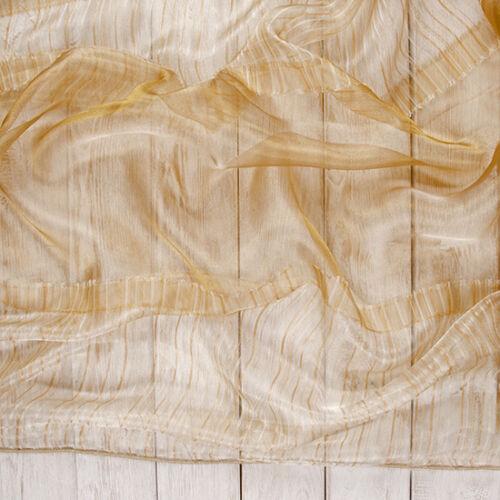 SVENDITA ORGANZA GOLDEN pattern altezza 300 cm a metraggio