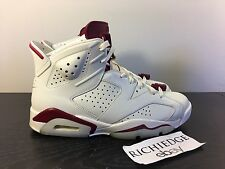 Nike Air Jordan VI 6 MAROON 2015 SIZE 8 NDS 100% AUTHENTIC