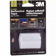 3m Scotchlite Silver Reflective Tape 2 In X 36 In 1 Roll