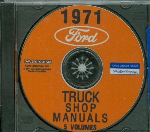 Parts & Accessories Other Car Manuals informafutbol.com 1971 FORD ...