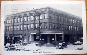 Image Is Loading 1962 Postcard Steim Hotel Kittanning Pennsylvania Pa