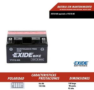 BATERIA-DE-MOTO-EXIDE-YTZ10-BS-Ref-Exide-ETZ10-BS