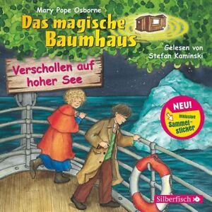 DAS-MAGISCHE-BAUMHAUS-VERSCHOLLEN-AUF-HOHER-SEE-HORBUCH-CD-NEW