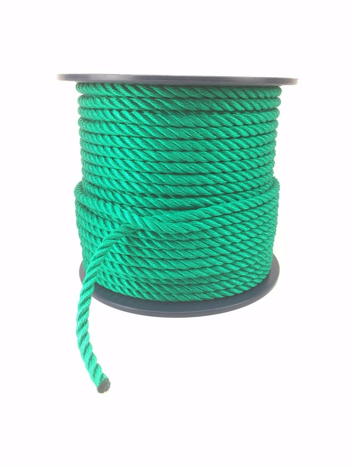 3 Strand Green Multifilament 10mm (Floating Rope) x 100m Reel Boats Yachts