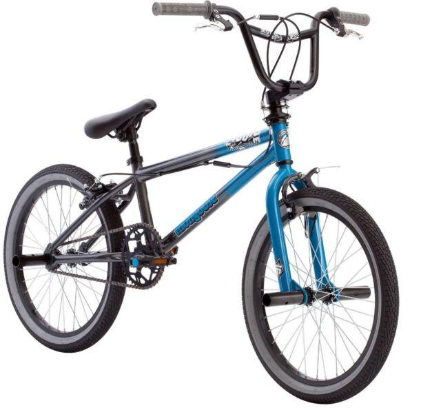 BMX Bike 20 Inch Mongoose Boys Bikes Mode 100 Freestyle Bicycle Pegs ...