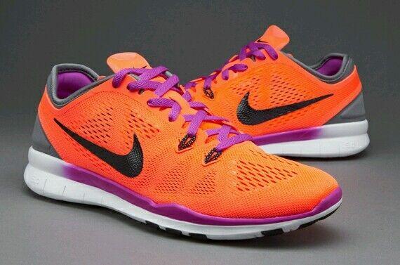 Femme Nike Free 5.0 Gym Entraînement Chaussures De Course Baskets UK 4.5 EUR 38-