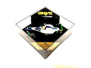 OYNX 1/43 Minardi Ford M195 Pierluigi Martini F1 Diecast Car -NEW- #242A