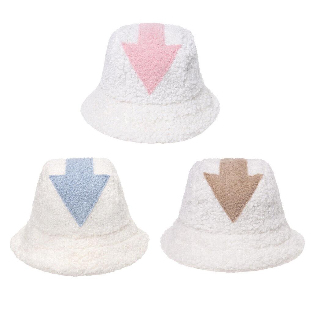 Classy Lämmer Wolle Eimer Hut für Frauen Winter Kalten Angeln Camping