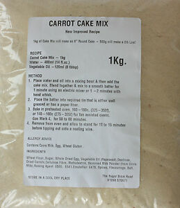 Carrot Cake Drink Mix