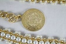 Maria Theresia Coin Pearl Necklace