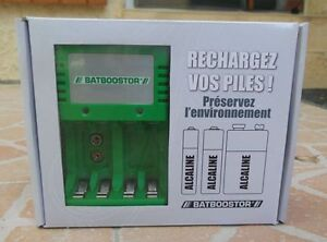 Chargeur-BATBOOSTOR-piles-alcaline-saline-ou-rechargeble-AAA-AA-6LR-9-volts