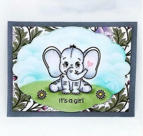 Elephant Animal Metal Cutting Dies Scrapbooking Die Craft Die Cuts Cards Making