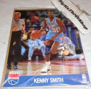 the latest 50efe f229b Details about Kenny Smith Sacramento Kings NBA Hoops Action Photo 8 x 10  unopened RARE