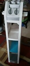 Video Game Console Storage Stand NINTENDO Wii Man Cave Organizer Plastic Shelf