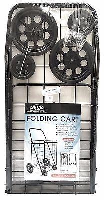 Jumbo Premium  Folding Shopping Cart with rotating Front swivel UPT
