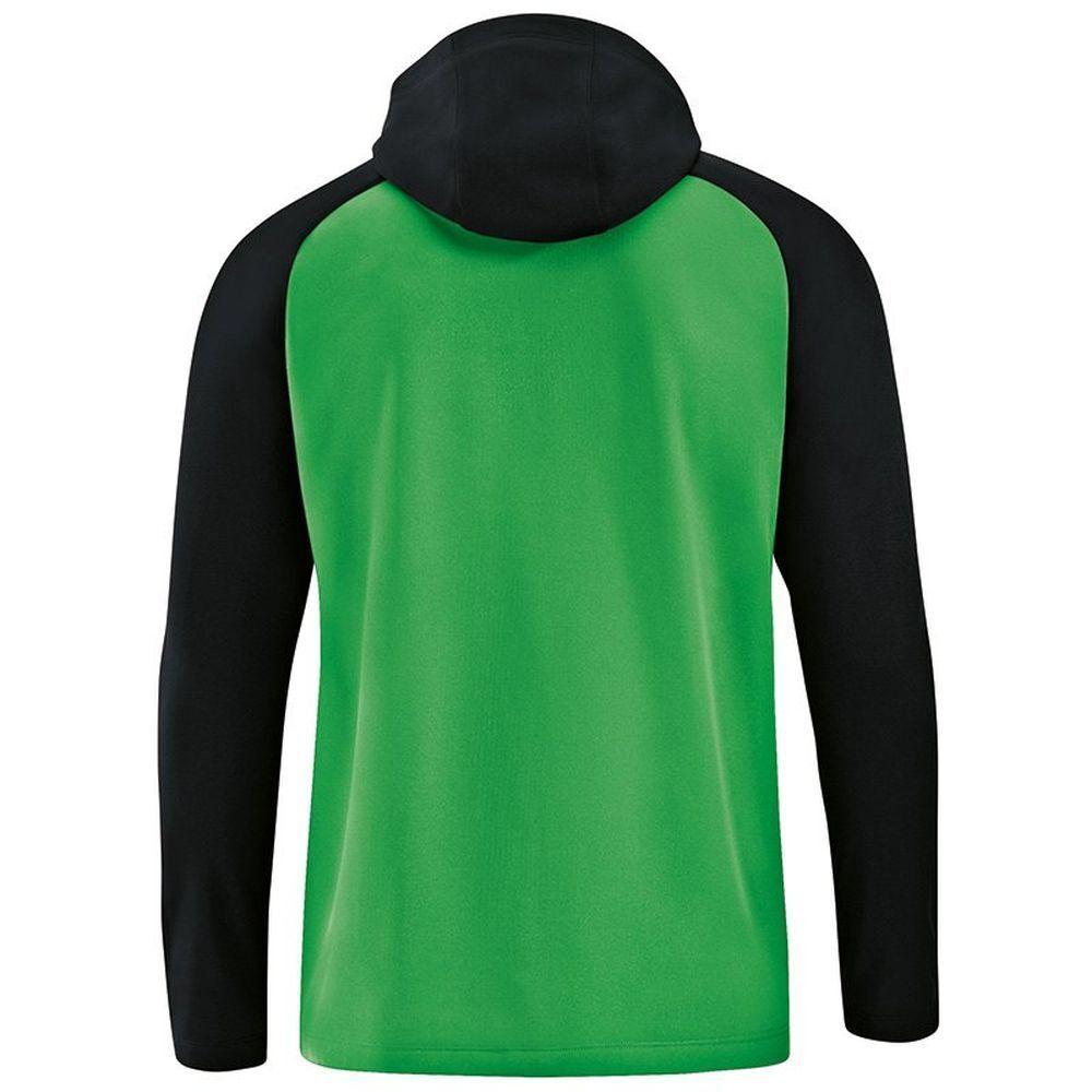 Jako Fußball Kapuzenjacke Kapuzenjacke Kapuzenjacke Competition 2.0 Damen Trainingsjacke grün schwarz 114a50