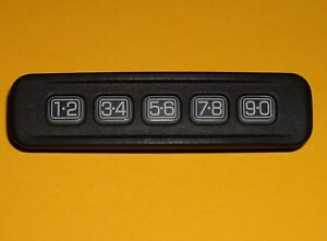Details about OEM Ford Keyless Entry Number Keypad / Key Lock Door Button  Pad - 8L8Z-14A626-AA