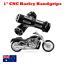 CNC-Billet-Deep-Cut-1-034-25mm-handgrips-Harley-Sportster-Dyna-Softail-Touring-VROD thumbnail 1