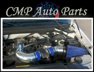 Details About Blue Cold Air Intake Kit Fit 97 03 Ford F 150 F150 F 250 Expedition 4 6l 5 4l