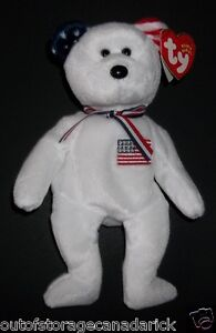 18bf0b36f2d Image is loading AMERICA-Ty-Beanie-Baby-Mint-With-Tags-Exclusive