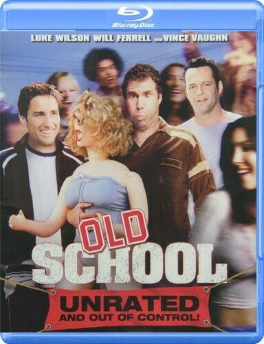 Old School (2003 Will Ferrell) (Unrated Version) BLU-RAY NEW