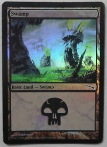 2ED V3 unlimited used card land MTG SWAMP Magic The Gathering