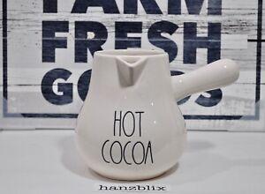 Rae-Dunn-Cocoa-Pot-HOT-COCOA-Christmas-Holiday-NEW-HTF-039-19